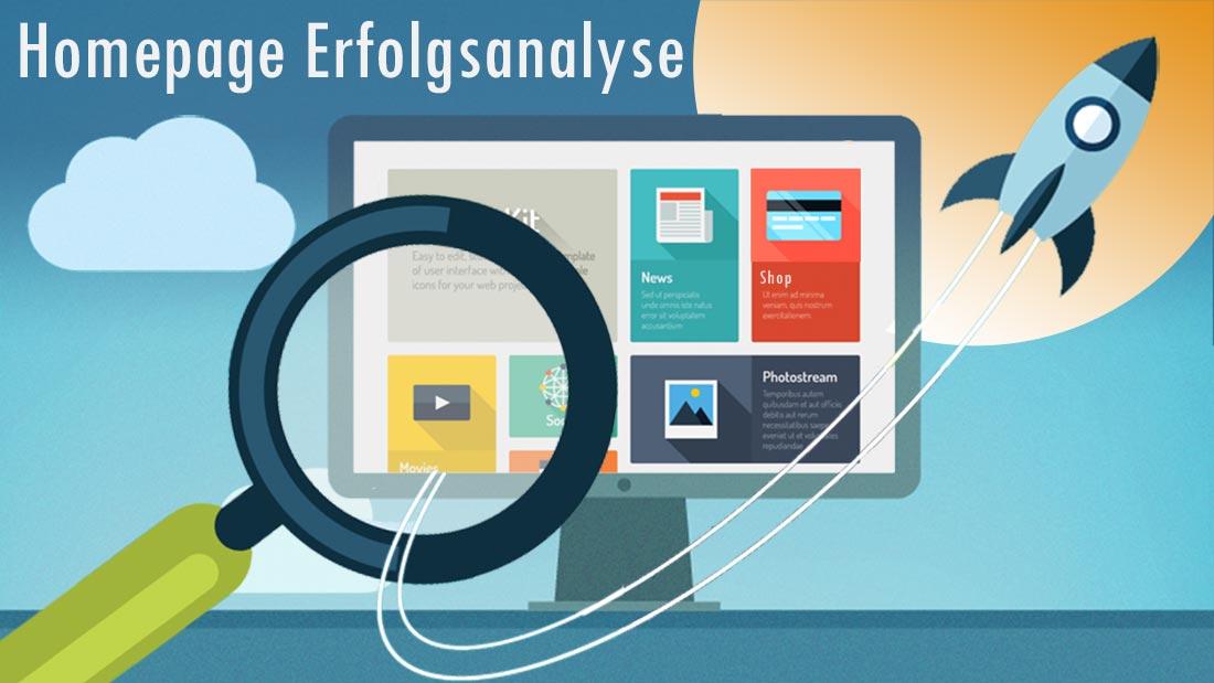 Homepage Erfolgsanalyse